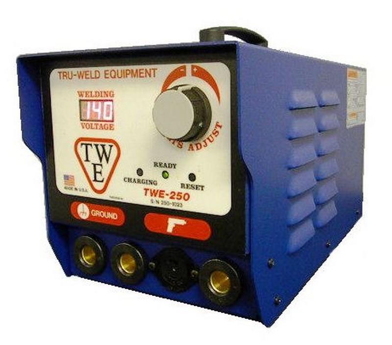 Item # TWE-250, TRUWELD TWE-250 Stud Welding Unit for CD stud welding